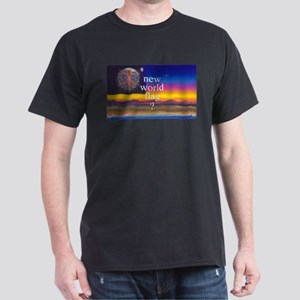 NEW WORLD FLAG ? Dark T-Shirt