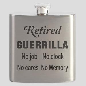 Retired Guerrilla Flask