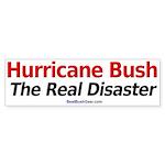 """Hurricane Bush"" Bumper Sticker (10)"