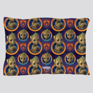 Gotg Groot Pattern Pillow Case