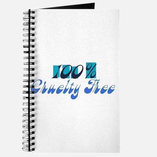 100% Cruelty Free Journal