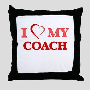 I love my Coach Throw Pillow