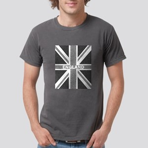 Grayscale Union Jack England Flag Monochro T-Shirt