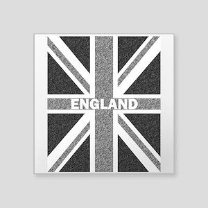 Grayscale Union Jack England Flag Monochro Sticker