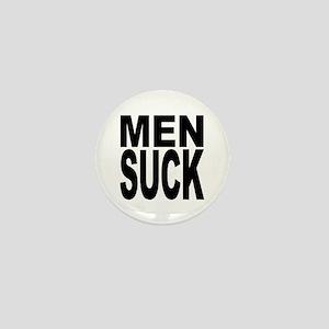 Men Suck Mini Button