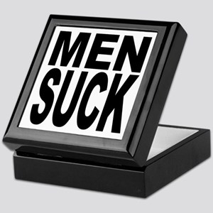Men Suck Keepsake Box