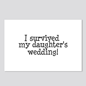 I Survived My Daughter's Wedding! Postcards (Packa