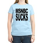 MSNBC Sucks Women's Light T-Shirt