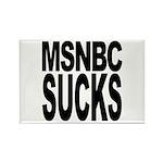 MSNBC Sucks Rectangle Magnet (10 pack)