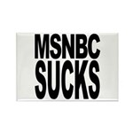 MSNBC Sucks Rectangle Magnet (100 pack)