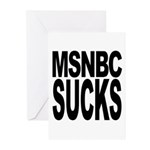 MSNBC Sucks Greeting Cards (Pk of 20)