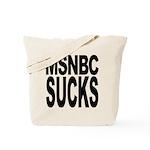 MSNBC Sucks Tote Bag