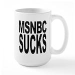MSNBC Sucks Large Mug