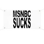 MSNBC Sucks Banner