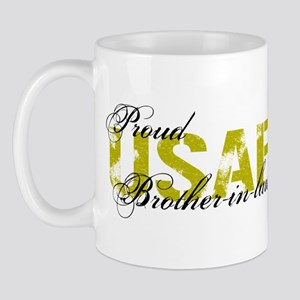 Proud Brother-in-law - USAF Mug