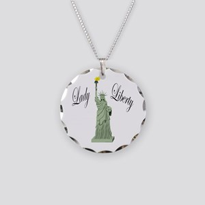 Statue of Liberty Lady Liberty Necklace