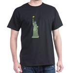 Statue of Liberty, Don't Mess Dark T-Shirt