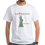 Statue of Liberty, Don't Me Men's Classic T-Shirts