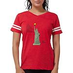 Statue of Liberty, No Terror Womens Football Shirt