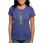 Statue of Liberty, No Ter Womens Tri-blend T-Shirt