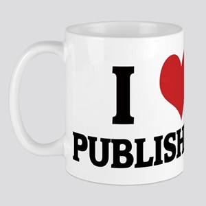 I Love Publishers Mug