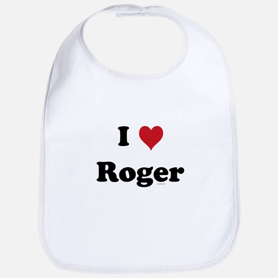 I love Roger Bib