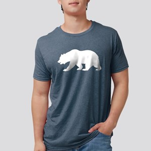 White California Bear T-Shirt