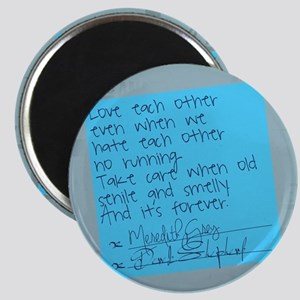 Greys Anatomy Sticky Note Magnet