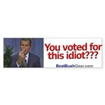 """You Voted?"" Bumper Sticker (10)"