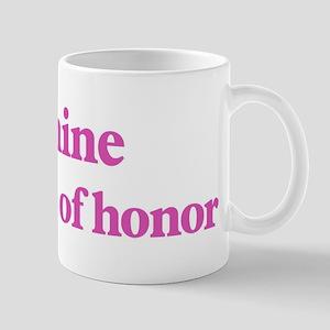 Jeanine the maid of honor Mug