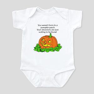 Genealogy Halloween<br> Infant Creeper
