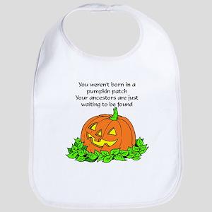 Genealogy Halloween<br> Bib