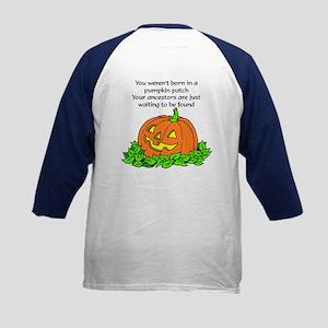 Genealogy Halloween<br> Kids Baseball Jersey