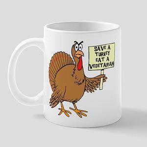 Vegetarian Thanksgiving Mug