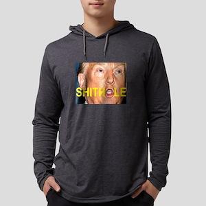SHITHOLE TRUMP FACE Long Sleeve T-Shirt