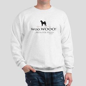 oddFrogg Akita Hello Sweatshirt