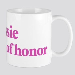 Cassie the maid of honor Mug