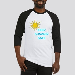 """Keep Summer Safe"" *SPIN Baseball Jersey"