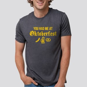 Had Me At Oktoberfest Mens Tri-blend T-Shirt