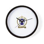 MERCIER Family Crest Wall Clock