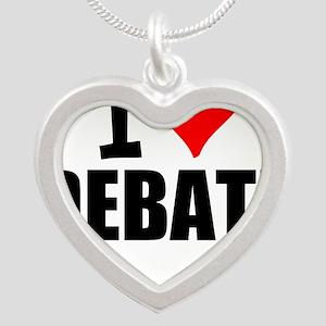 I Love Debate Necklaces