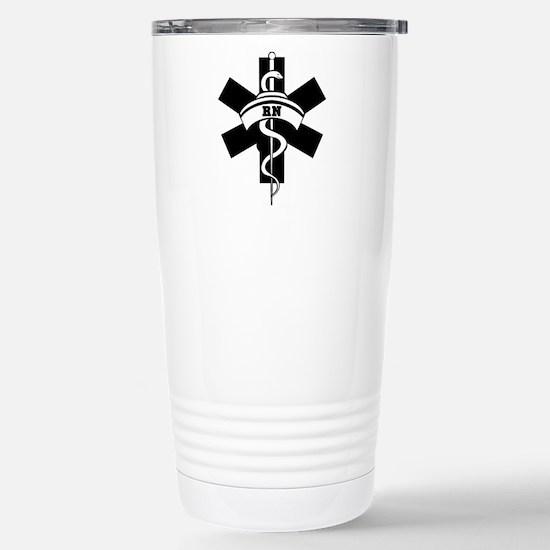 RN Nurses Medical Stainless Steel Travel Mug