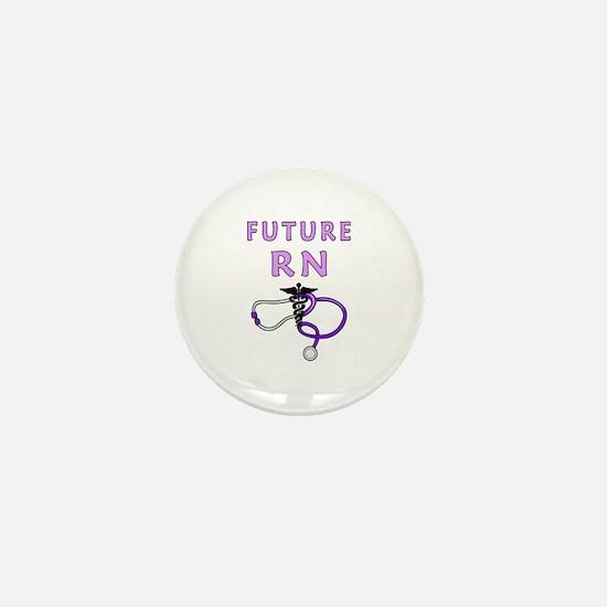 Nurse Future RN Mini Button