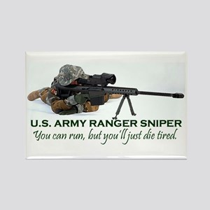 ARMY RANGER SNIPER Rectangle Magnet