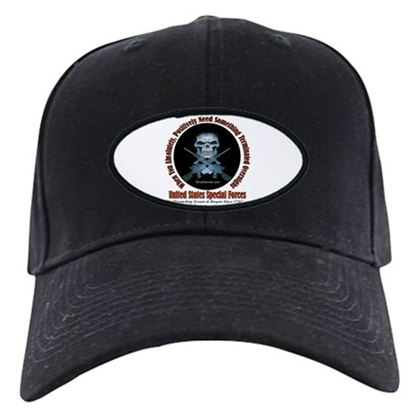 ARMY RANGER SNIPER Black Cap