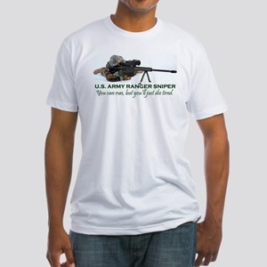 ARMY RANGER SNIPER Fitted T-Shirt