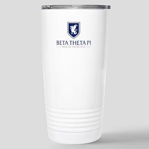 Beta Theta Pi Men 16 oz Stainless Steel Travel Mug