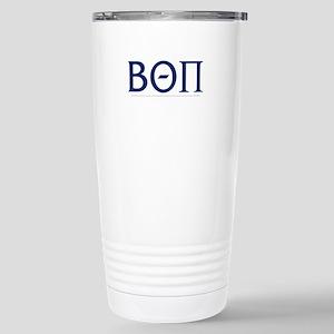 Beta Theta Pi Let 16 oz Stainless Steel Travel Mug
