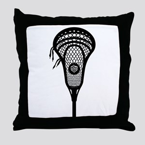 LAX Head Throw Pillow