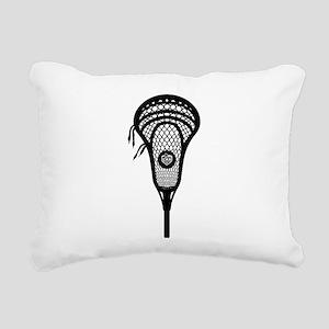 LAX Head Rectangular Canvas Pillow